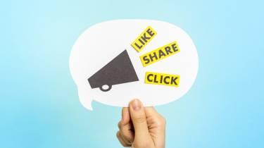 Social Media - Like Share Click