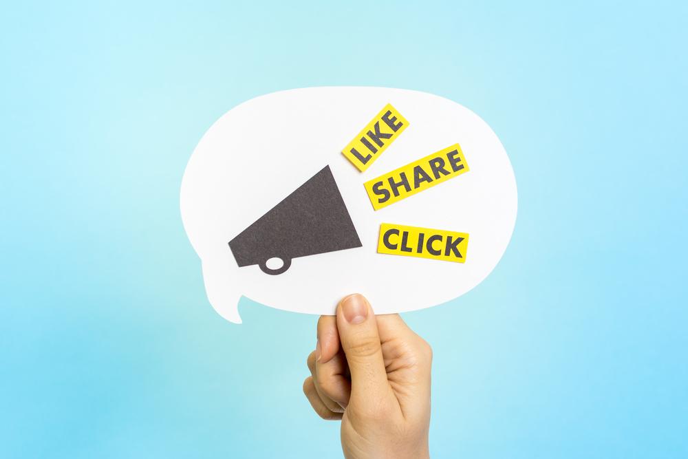 SocialMedia LikeShareClick