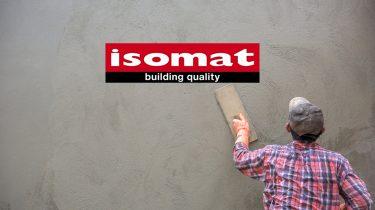 ανασχεδιασμός της ιστοσελίδας της ISOMAT