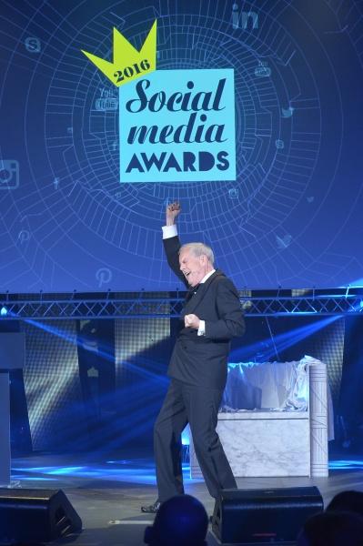 Social Media Awards 2016 απονομή βραβείων