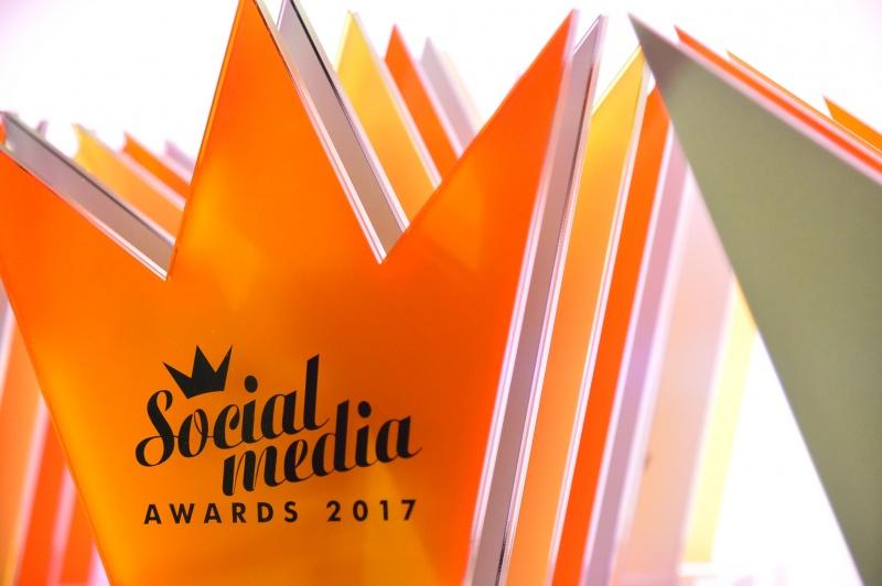 Social Media Awards 2017 τελετή απονομής